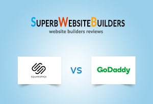 Squarespace vs Godaddy Builder web stranica